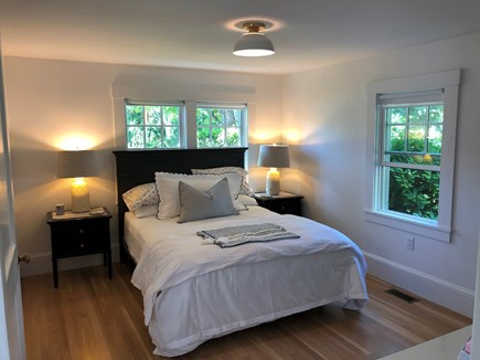 Edgartown Martha's Vineyard vacation rental - Front Bedroom with Queen Bed