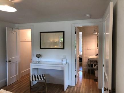 Edgartown Martha's Vineyard vacation rental - Closet/Makeup Vanity/Bathroom