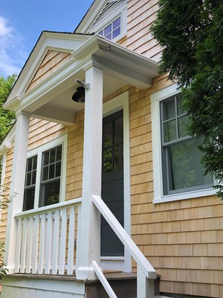 Edgartown Martha's Vineyard vacation rental - Rear Entrance near parking