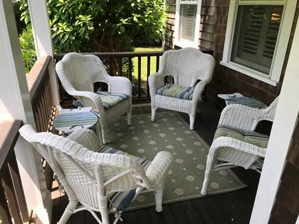 Oak Bluffs Martha's Vineyard vacation rental - Front Porch Left Side