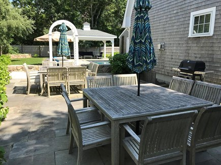 Oak Bluffs Martha's Vineyard vacation rental - Outside dining area with grill