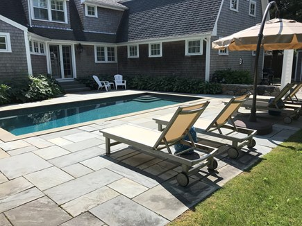 Oak Bluffs Martha's Vineyard vacation rental - Relax by the pool
