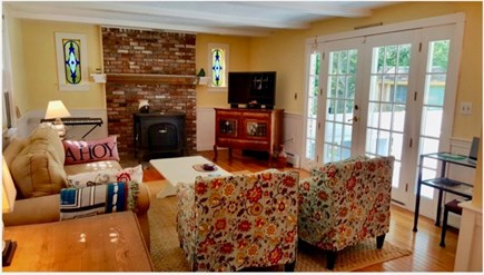 Oak Bluffs, Oak  Martha's Vineyard vacation rental - Second livingroom so guests can mosey about