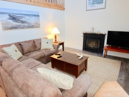 Edgartown Martha's Vineyard vacation rental - Comfy open living and family room with large screen television