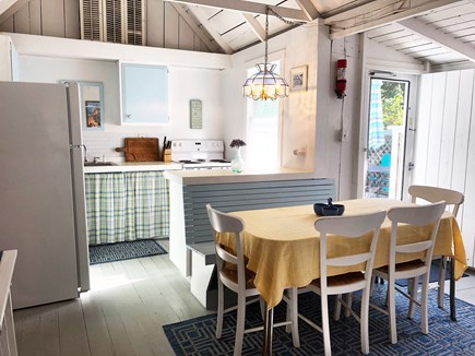 Downtown Oak Bluffs Martha's Vineyard vacation rental - Eat in kitchen - with deck and grill off the back