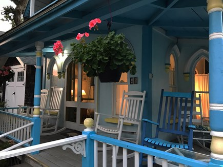 Downtown Oak Bluffs Martha's Vineyard vacation rental - Sunsets on the porch - steps from downtown