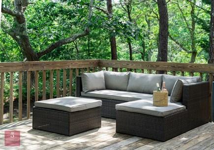 Edgartown Martha's Vineyard vacation rental - Outdoor Deck with outdoor furniture