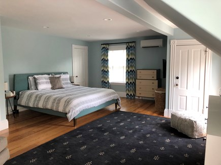 Vineyard Haven Martha's Vineyard vacation rental - Master Bedroom - King size bed, sitting area and adjoining bath
