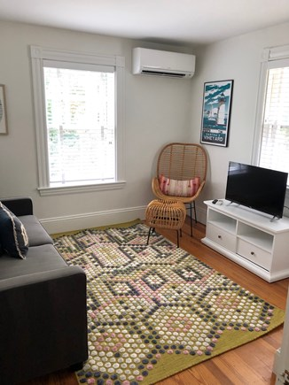 Vineyard Haven Martha's Vineyard vacation rental - 2nd floor den that has double sofa bed and TV.