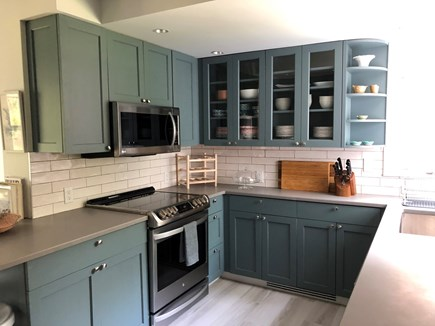Vineyard Haven Martha's Vineyard vacation rental - Newly renovated kitchen with all new appliances.