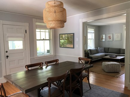 Vineyard Haven Martha's Vineyard vacation rental - Dining area opens up to screened in porch.
