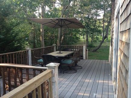 Oak Bluffs Martha's Vineyard vacation rental - Deck for outdoor dining
