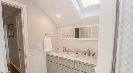 Oak Bluffs, East Chop Martha's Vineyard vacation rental - Newly renovated bathroom with double sinks