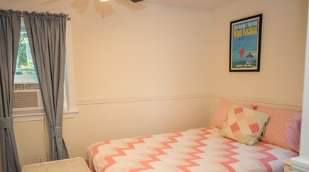 Oak Bluffs, East Chop Martha's Vineyard vacation rental - Downstairs bedroom with double bed and close to bathroom