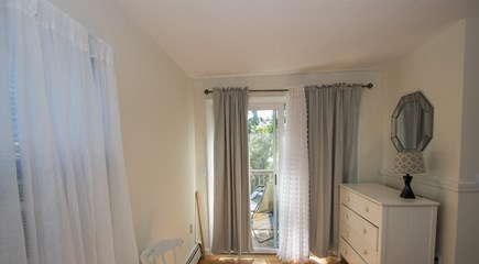 Oak Bluffs, East Chop Martha's Vineyard vacation rental - Master bedroom with private deck