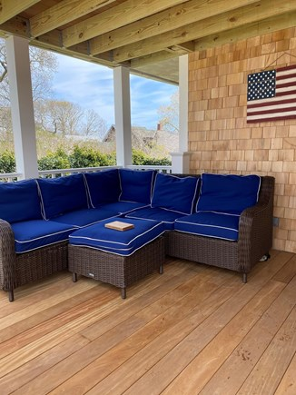 Oak Bluffs, East Chop Martha's Vineyard vacation rental - Cozy outdoor seating to relax and hear the birds chirping