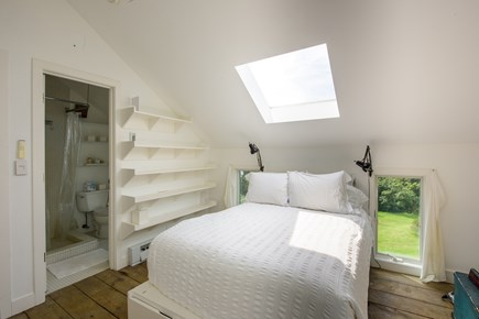 Aquinnah Martha's Vineyard vacation rental - Main house master bedroom