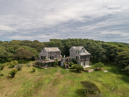 Aquinnah Martha's Vineyard vacation rental - Main and Guest house and property