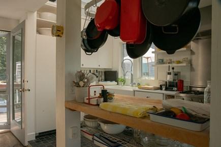 Aquinnah Martha's Vineyard vacation rental - Main house kitchen