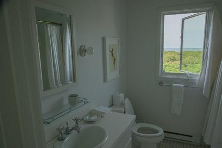 Aquinnah Martha's Vineyard vacation rental - Guest house master bathroom