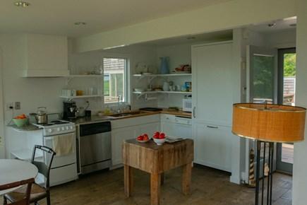 Aquinnah Martha's Vineyard vacation rental - Guest house chef's kitchen