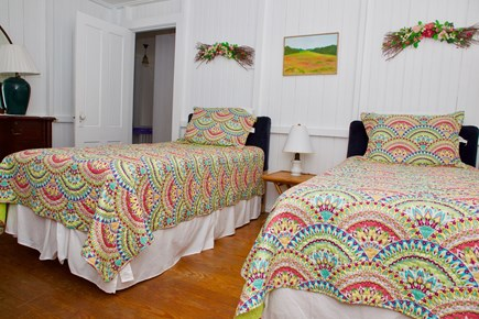 Oak Bluffs Martha's Vineyard vacation rental - Bedroom with 2 twin beds.