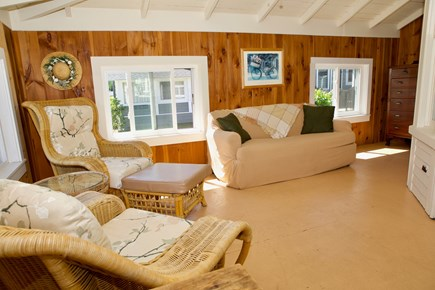 Oak Bluffs Martha's Vineyard vacation rental - Comfortable covered porch perfect for reading.