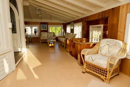 Oak Bluffs Martha's Vineyard vacation rental - Beautiful enclosed porch.