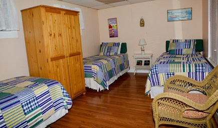 Oak Bluffs Martha's Vineyard vacation rental - Bedroom with sitting room and private bath.
