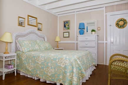 Oak Bluffs Martha's Vineyard vacation rental - Bedroom with full-sized bed and private bathroom.