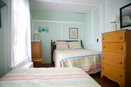 Oak Bluffs Martha's Vineyard vacation rental - Bedroom with full-sized and twin beds.