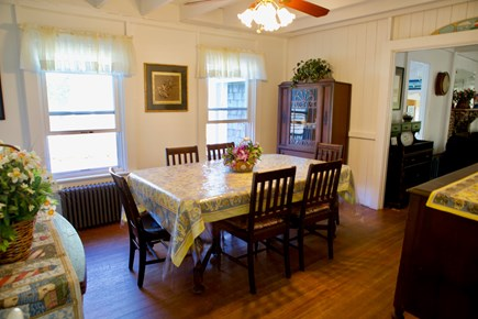 Oak Bluffs Martha's Vineyard vacation rental - Sun-filled dining room for family dinners.