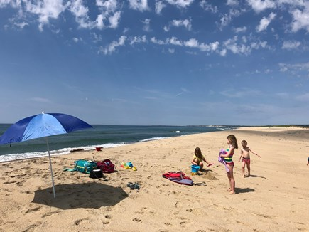 Chilmark, Tisbury Great Pond Martha's Vineyard vacation rental - 1 & 1/2 mile private and gated Quansoo Beach!