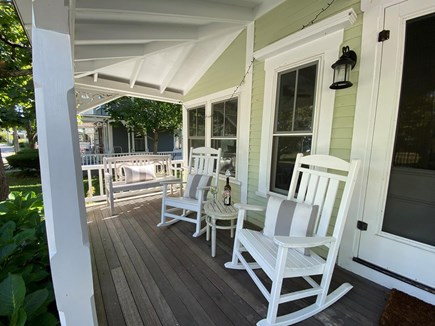 Oak Bluffs Martha's Vineyard vacation rental - Front Porch Rockers