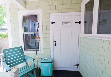 Oak Bluffs Martha's Vineyard vacation rental - Laundry/shed