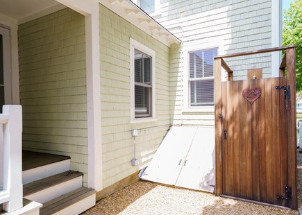 Oak Bluffs Martha's Vineyard vacation rental - Outdoor Shower - leading to outdoor living space (not shown).
