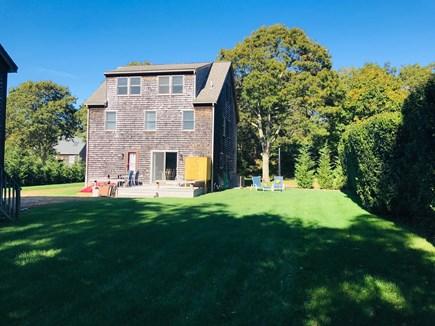 Oak Bluffs Martha's Vineyard vacation rental - Located on a quiet street with a grassy yard.