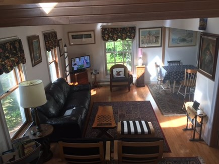 Edgartown Martha's Vineyard vacation rental - From stairs to living area