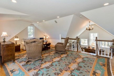 West Tisbury Martha's Vineyard vacation rental - Convertible queen size couch to bed on third floor