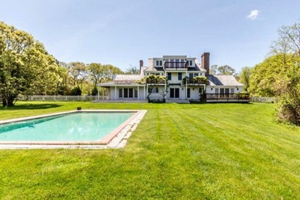 West Tisbury Martha's Vineyard vacation rental - Gunite heated in-ground pool, and privacy of 2+ acres