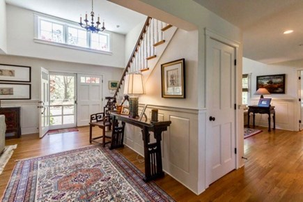 West Tisbury Martha's Vineyard vacation rental - Grand foyer separates two living rooms and a breakfast nook.