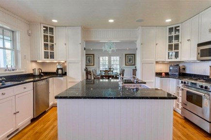 West Tisbury Martha's Vineyard vacation rental - Cooks kitchen with two stoves and two refrigerators