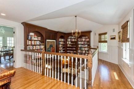 West Tisbury Martha's Vineyard vacation rental - One of a kind sunken library