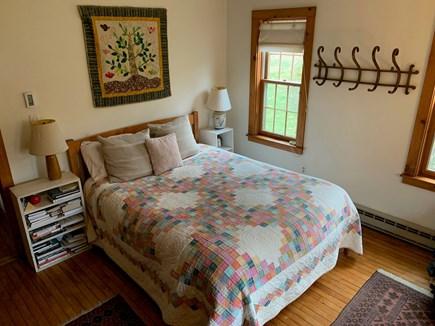 Chilmark Martha's Vineyard vacation rental - First floor bedroom with queen bed