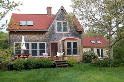 West Tisbury Martha's Vineyard vacation rental - Front view of house