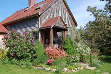 West Tisbury Martha's Vineyard vacation rental - Front Entrance