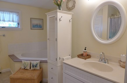 Oak Bluffs Martha's Vineyard vacation rental - Full Bath Stand along Shower/Tub