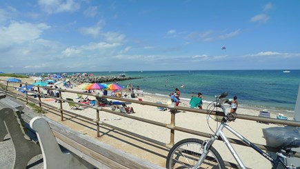 Oak Bluffs Martha's Vineyard vacation rental - Just another day at the BEACH!