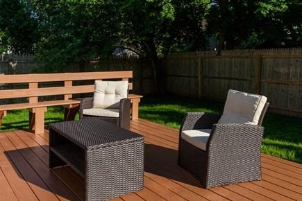 Oak Bluffs Martha's Vineyard vacation rental - New patio furniture for relaxing