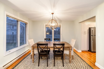 Oak Bluffs Martha's Vineyard vacation rental - Dining room w/new furniture! More seating for 3 inside kitchen.